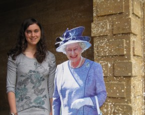 Georgie Meets Her Majesty The Queen During The Jubilee